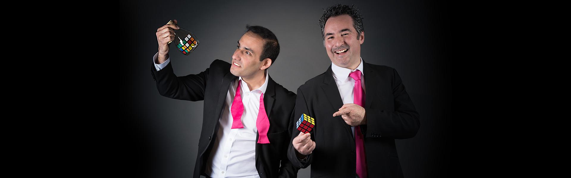 Yoan et Guillaume les magiciens mentalistes