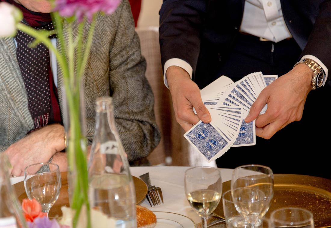 Magie en Close Up tour de cartes