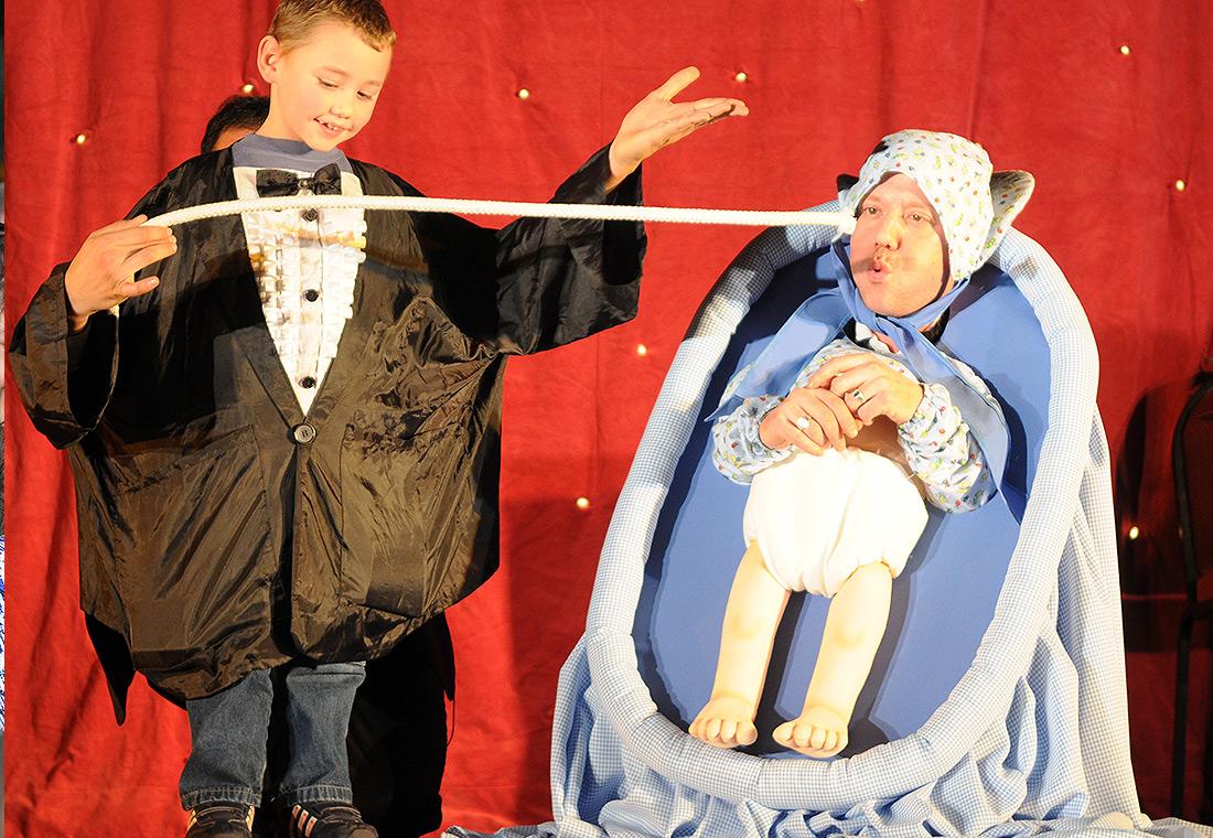 Ventriloquie avec des enfants - Tour de magie