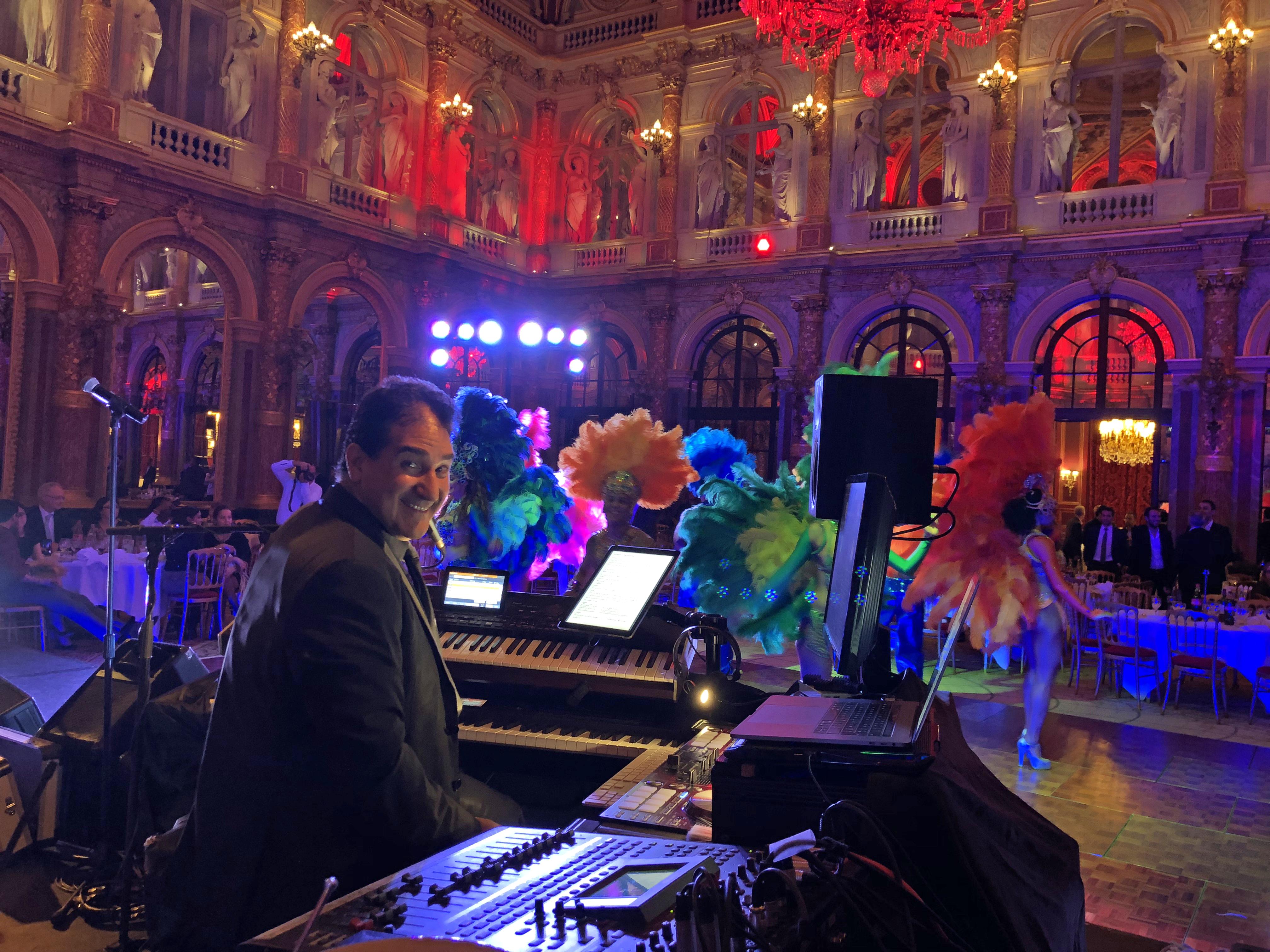 Soiree Carnaval Anniversaire d'entreprise Intercontinental Hotel Paris