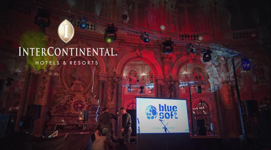Anniversaire professionnel chez Intercontinental Hotel