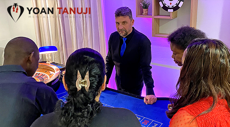 Soirée casino et magie reservation