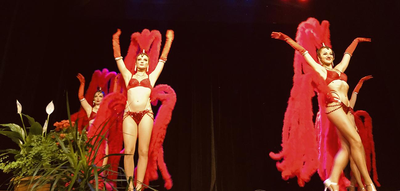Engager danseuses pour évènement de collectivité